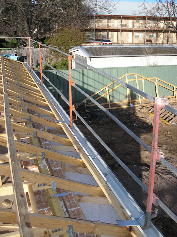 Roofworx Nsw Safe T Rails Safety Rails Roof Safety